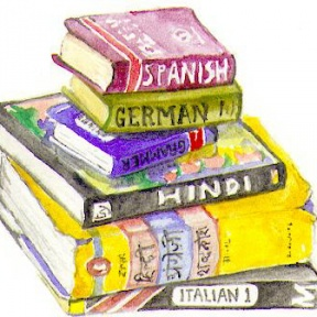 Foreign Language Clip Art.