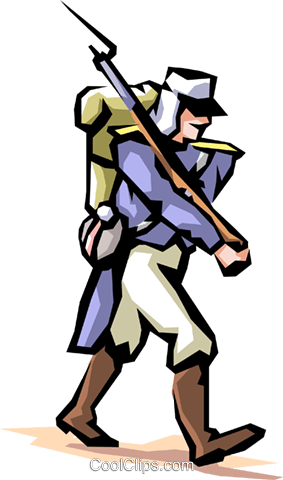 French Foreign Legion Royalty Free Vector Clip Art illustration.