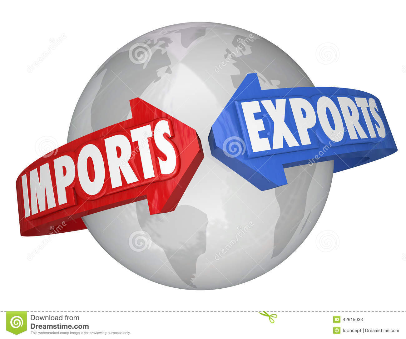 International trade clipart.