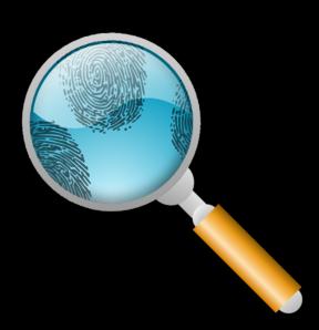 Forensic Investigation Clip Art.