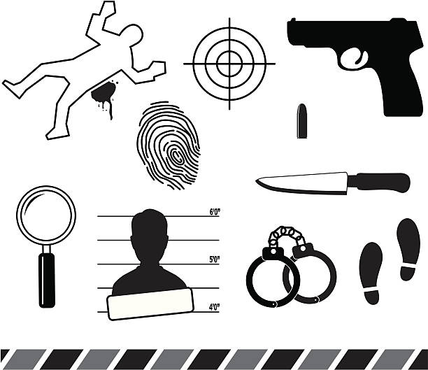 Best Forensic Science Illustrations, Royalty.