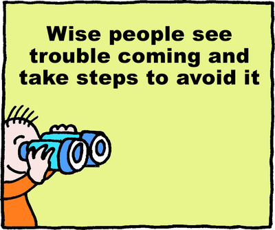 Image download: Avoid Trouble.