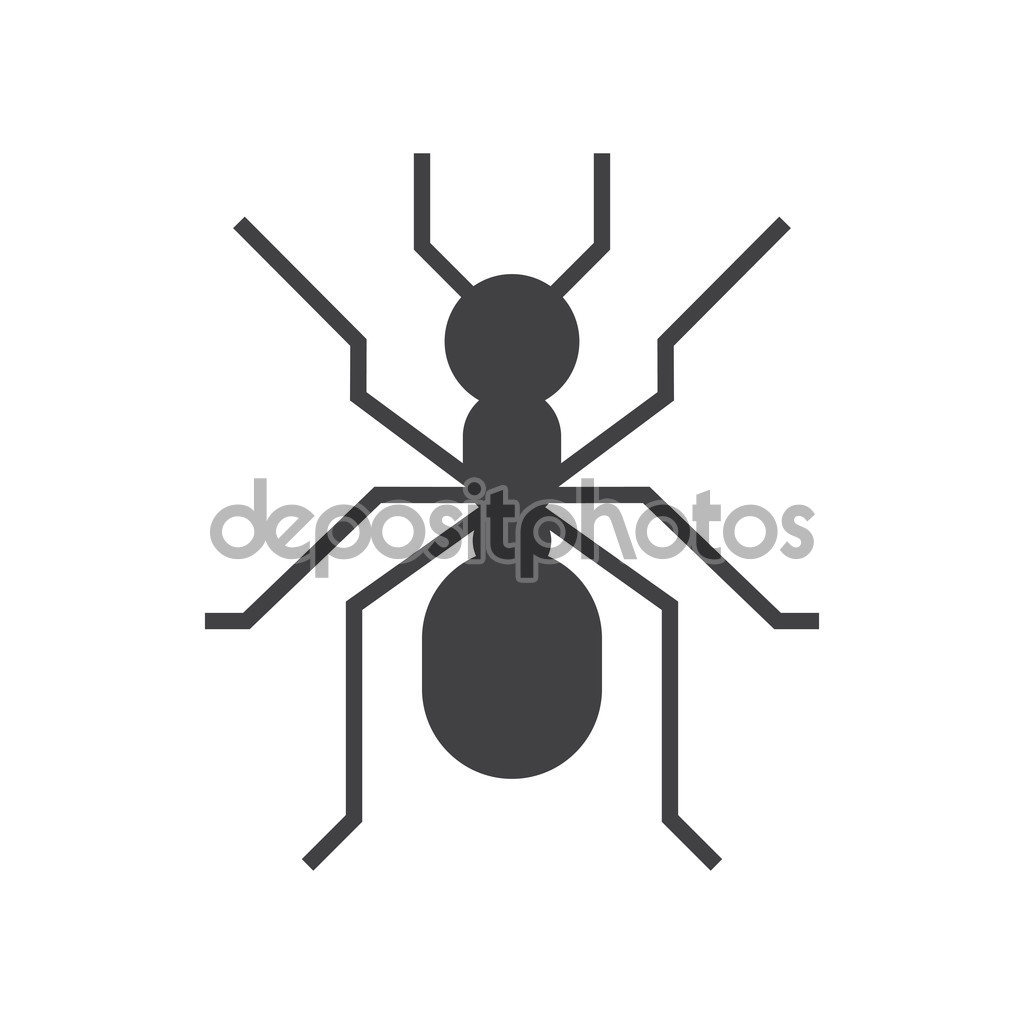 Forest Ant Icon — Stock Vector © krugli86@gmail.com #124409532.