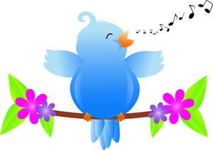 Songbird Clipart Image.