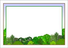 Download forest border clip art clipart Paper Clip art.
