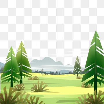 Cartoon Forest PNG Images.
