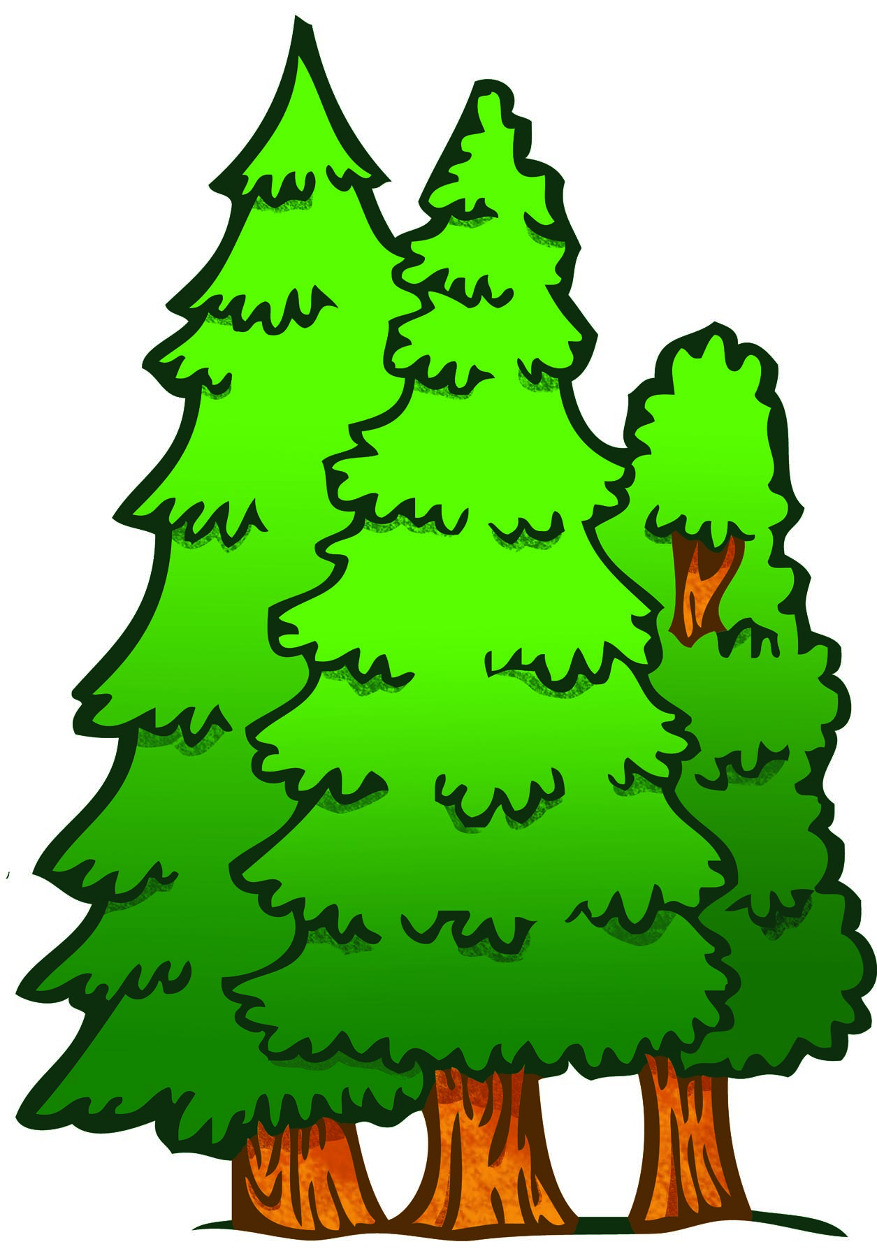Clipart Of Forest.