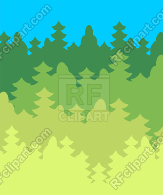 Forest background Vector Image.