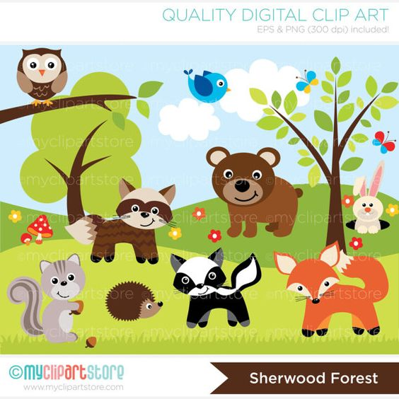 Hd Forest Live Clipart.