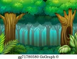 Forest Clip Art.