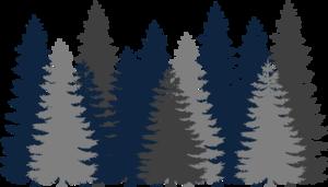 Navy Blue Tree Forest Clip Art at Clker.com.