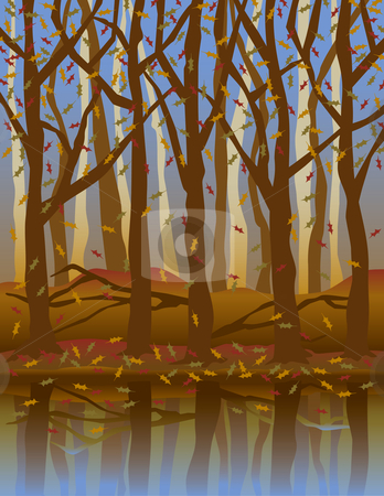 Forest fall clipart #16