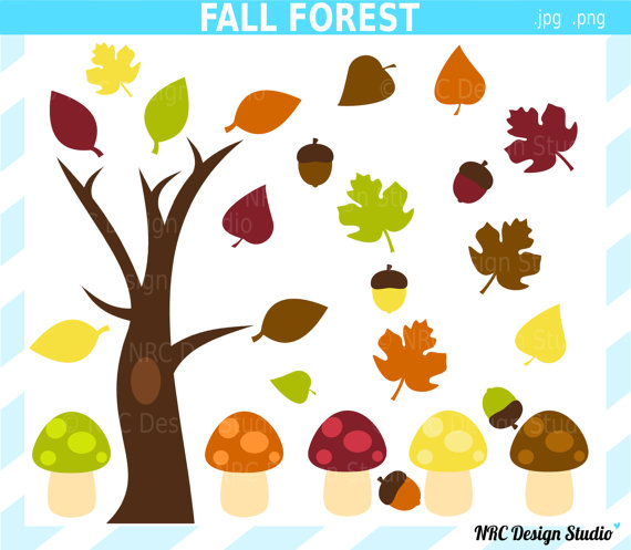 Harvest Party Clipart.