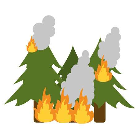 11,925 Forest Fire Stock Vector Illustration And Royalty Free Forest.