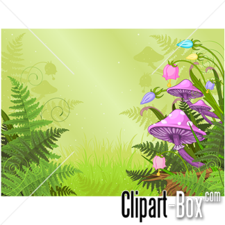 CLIPART FANTASY FOREST.
