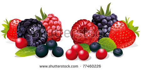 Berry Fruit Stock Images, Royalty.