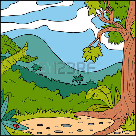 785 Forest Glade Stock Vector Illustration And Royalty Free Forest.