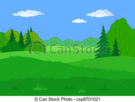 Forest glade Illustrations and Clip Art. 663 Forest glade royalty.