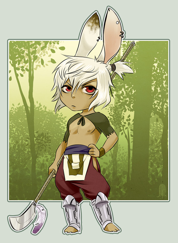 Forest guardian by Lelia on DeviantArt.