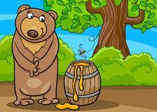 Barrel Of Honey Clip Art Cartoon Illustration Royalty Free Stock.