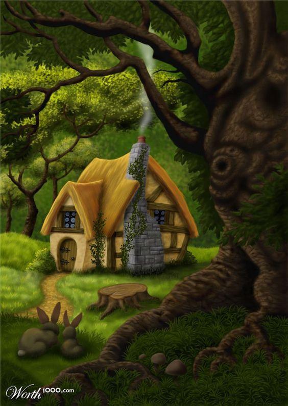 Fantasy Cottage.
