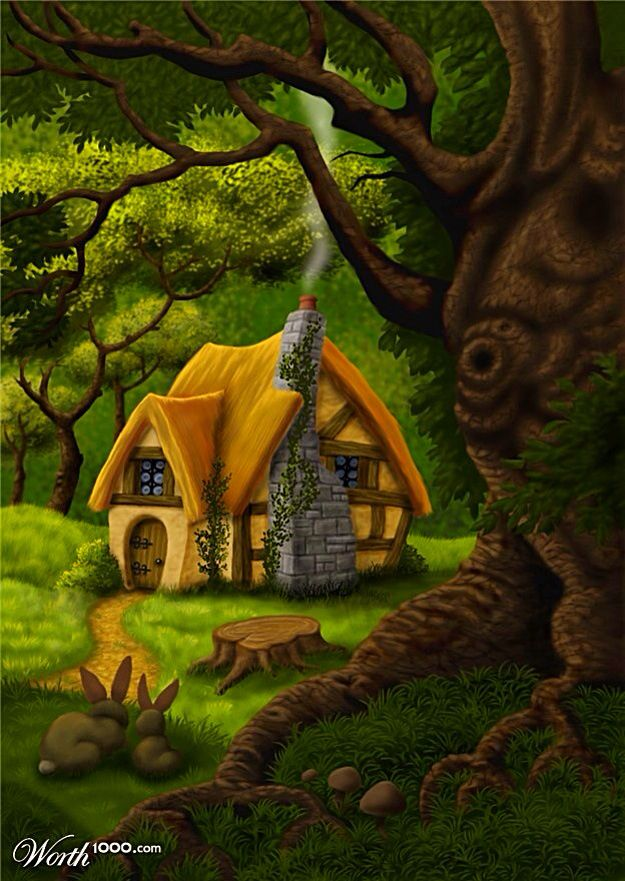 Forest House Clipart Clipground