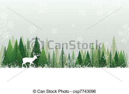 winter forest clipart winter forest scene clipart clipart kid.