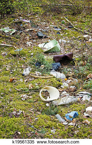 Stock Image of environment pollution.