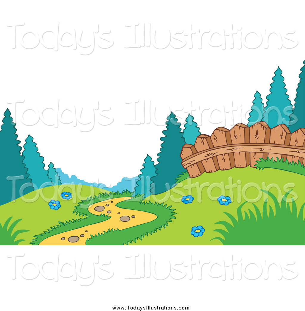Forest Meadow Clipart.