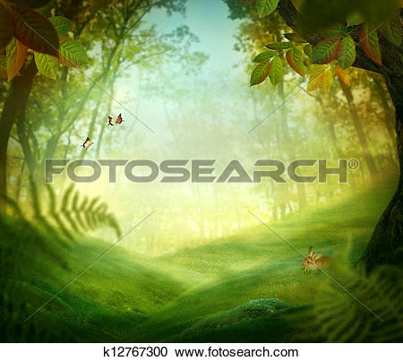 Stock Photography of Spring design.
