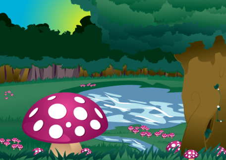 Mushroom Forest.