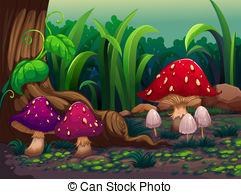 Mushrooms Stock Illustrations. 19,387 Mushrooms clip art images.