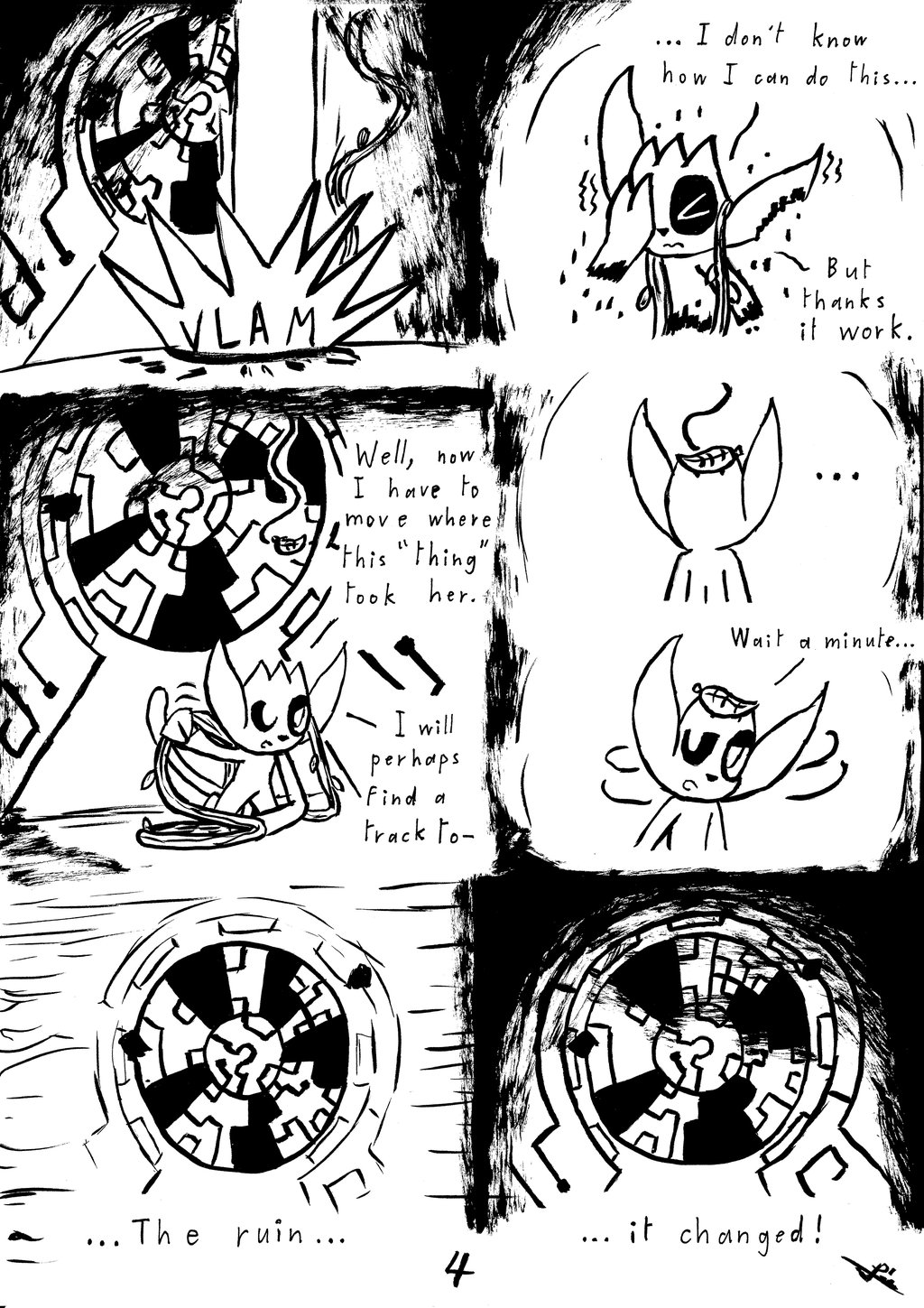 Lumi and the forest shadows ch3 p4 by Mikes118 on DeviantArt.