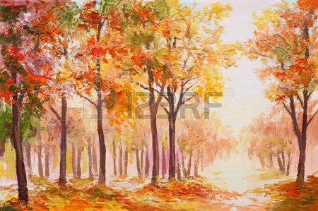 3,355 Oil Painting Landscape Stock Illustrations, Cliparts And.