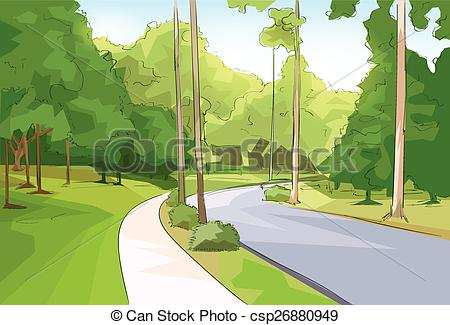 Forest road Illustrations and Clip Art. 3,614 Forest road royalty.
