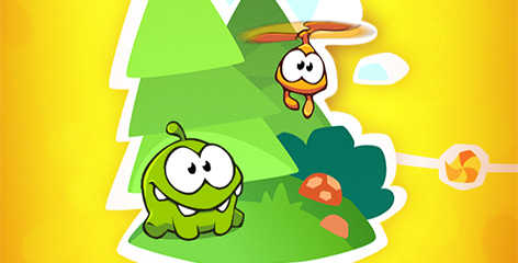 Cut the Rope 2 Walkthrough, Hidden Drawings and Achievements.