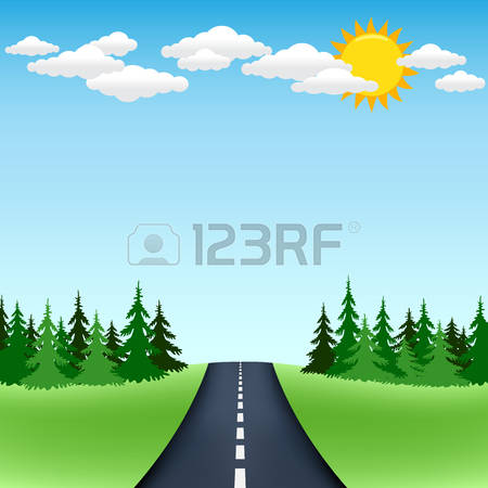 Forest Route Stock Vector Illustration And Royalty Free Forest.