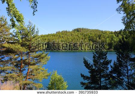 Lake Vattern Stock Photos, Royalty.