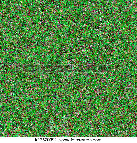 Clipart of Forest Soil. Seamless Texture. k13520391.