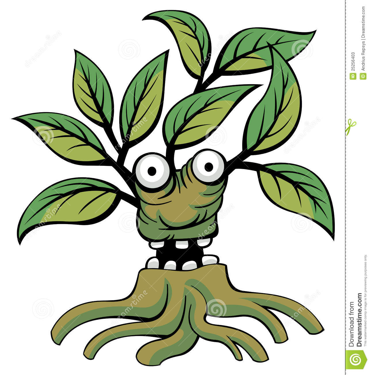 Funny Forest Spirit Stock Photos.