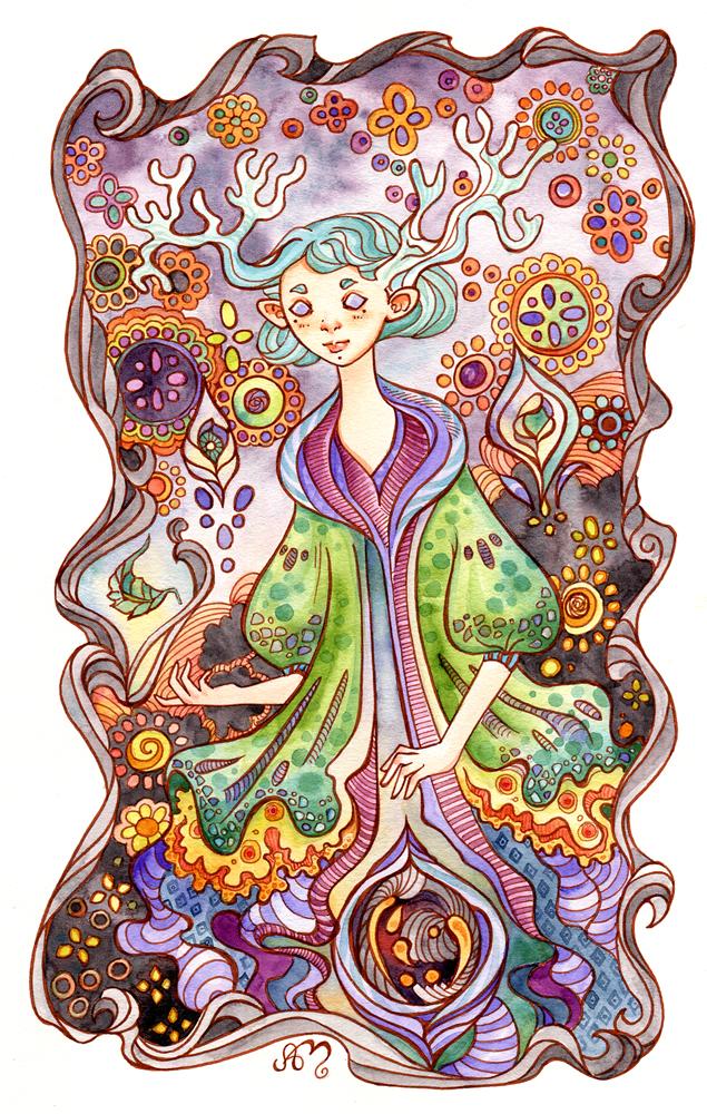 Forest Spirit — Ania Mohrbacher.
