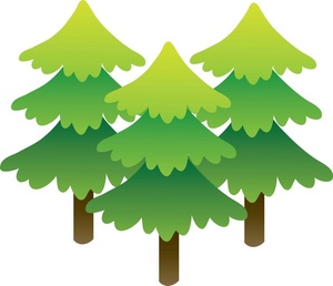 Forest trees clipart free clipart images 2.