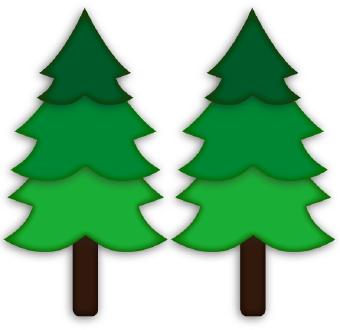 Forest Trees Clipart.