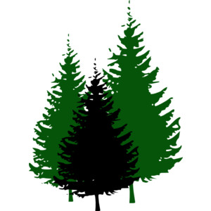 Forest Trees Clip Art Forest tree clipart - ...