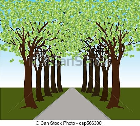 Forest Trees Clip Art.