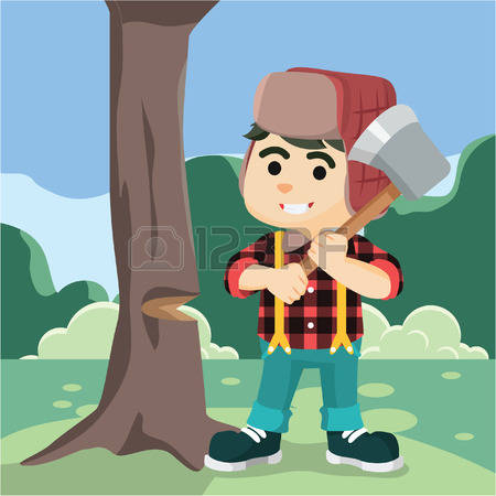 838 Forest Worker Stock Illustrations, Cliparts And Royalty Free.