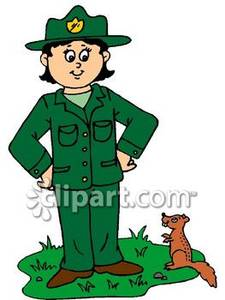 Forest workers clipart #19