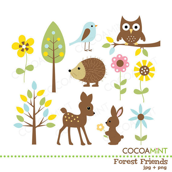 Forest zones clipart #20
