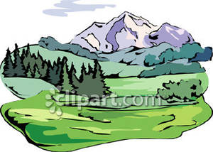 Make meme with Mountain Forest Clipart.