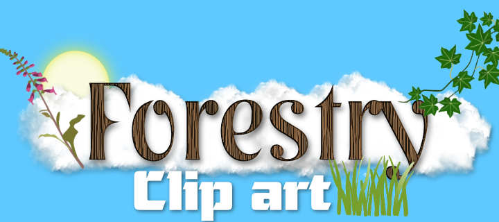 Forestry Clip art pack.